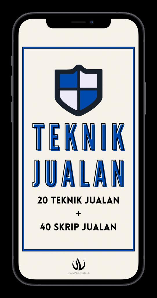 20 Teknik Jualan + 40 Skrip Jualan